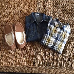 Other - Boys lot of 3 items. Gymboree & Crazy 8.Size 10-12